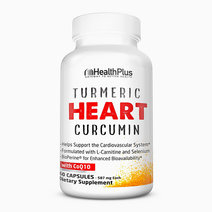 Turmeric Heart Curcumin with CoQ10 (30 Days) by Health Plus