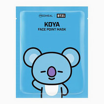 BTS BT21 Face Point Mask (Koya) by Mediheal