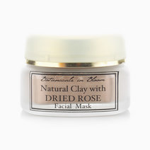 Natural Clay with Dried Rose Facial Mask by Botanicals in Bloom