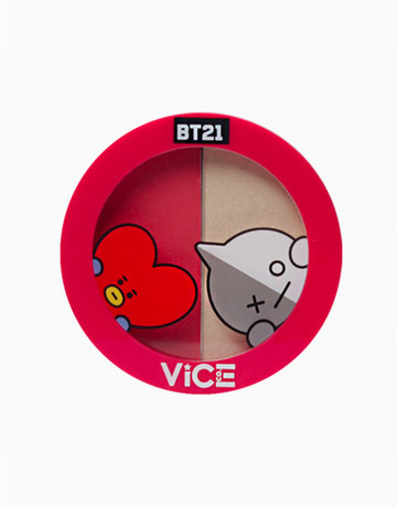 BT21 Aura Blush and Glow Duo by Vice Cosmetics