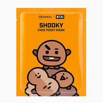 BTS BT21 Face Point Mask (Shooky) by Mediheal