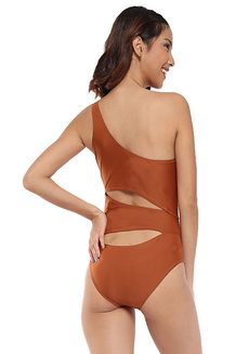 One Shoulder Cutout One Piece by EIKA Swimwear