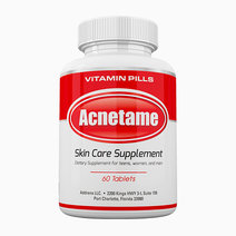 Acnetame skin care supplements for acne treatment  vitamin pills   60 natural pills
