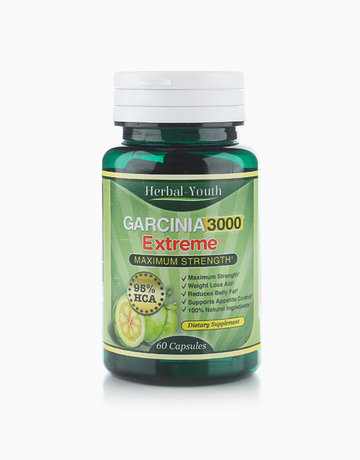 3000 Garcinia Cambogia Extreme Maximum Strength (60 Capsules) by Herbal Youth