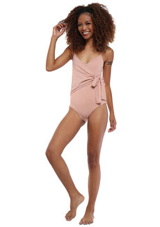 Costa Wrap One Piece by Solanna Swimwear