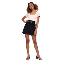 Corduroy Buckle Skirt by The Fifth Clothing