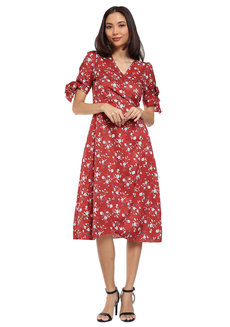 Mel Wrap Dress by HAV PH