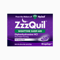ZzzQuil Nighttime Sleep Aid LiquiCaps (48ct) by ZzzQuil