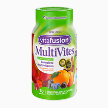 MultiVites Essential Multi Complete Multivitamin for Everyday Nutritions - Natural Berry, Peach, and Orange Flavors (70 Gummies) by Vitafusion