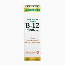 B12 5000mcg Sublingual Liquid Energy Health (2oz) by Nature's Bounty