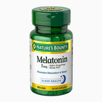 Melatonin 100% Drug Free Sleep Aid (1mg x 180 Tablets) by Nature's Bounty