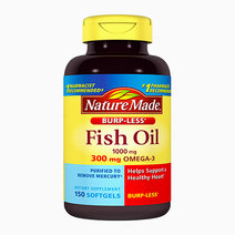 Burpless Fish Oil 1000mg with Omega-3 300mg (150 Softgels) by Nature Made
