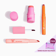 Rosy Pink Holiday Set by Happy Skin