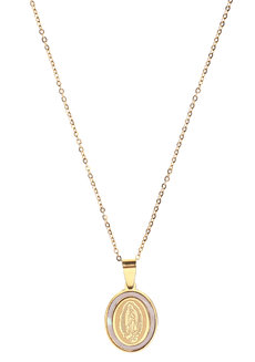 Estee Medallion Necklace by Dusty Cloud