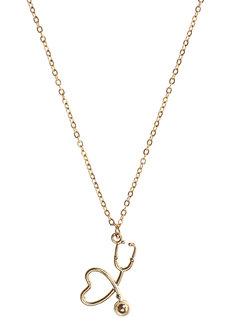 Danielle Dainty Stethoscope Necklace by Dusty Cloud