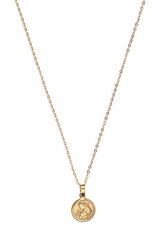 Aud Mary Medallion Necklace by Dusty Cloud