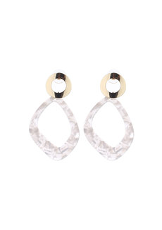 Bianca Acrylic Earrings by EI Project