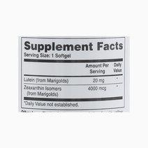 Lutein w/ Zeaxanthin (60 Softgels) by Health Thru Nutrition
