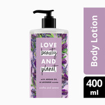 Argan Oil & Lavender Body lotion Soothe & Serene (400ml) by Love Beauty and Planet