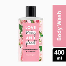 Murumuru Butter & Rose Body Wash Majestic Glow (400ml) by Love Beauty and Planet