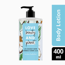 Coconut Water & Mimosa Flower Body Lotion - Luscious Hydration by Love Beauty and Planet