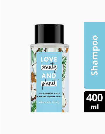 Coconut Water & Mimosa Flower Shampoo - Volume and Bounty by Love Beauty and Planet