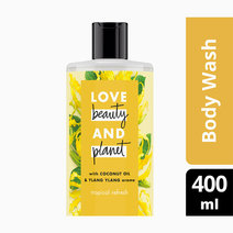 Coconut & Ylang Ylang Body Wash - Tropical Refresh by Love Beauty and Planet
