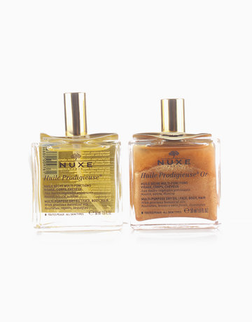 Huile Prodigieuse Beauty Dry Oil Favorites Duo by Nuxe Paris