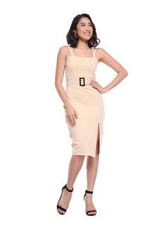 Jennifer Buckle Dress by Wear Sundays