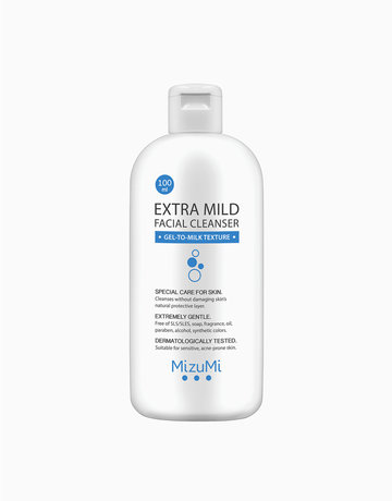 Extra Mild Facial Cleanser (100ml) by MizuMi