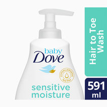 Baby Dove Hair to Toe Wash Sensitive Moisture (591ml) by Baby Dove