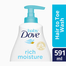 Baby Dove Hair to Toe Wash Rich Moisture (591ml) by Baby Dove