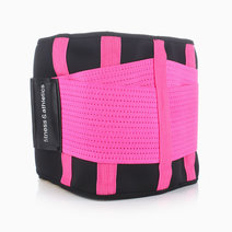 Waist Shaper in Black-Pink by Fitness & Athletics