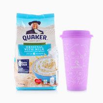 Original Flavored Oats Original with Milk (500g) + FREE Tumbler by Quaker