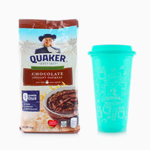 Chocolate Flavored Oats (500g) + FREE Tumbler by Quaker