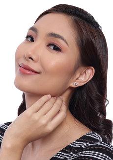 Erika Heart Earrings by Znapshop