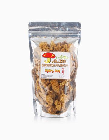 J.A.M Organic Chicharon Mushroom Spicy BBQ (100g) by J.A.M Organic Chicharon Mushroom