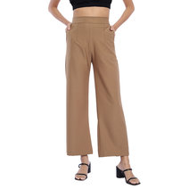 Woven Wide Leg Pants by The Fifth Clothing