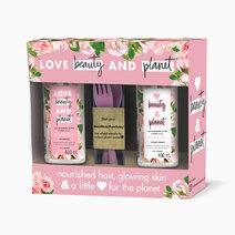 Murumuru Butter & Rose Hair Care Gift Bundle by Love Beauty and Planet