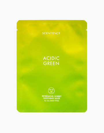 Acidic Green Soothing Mask by Scentence