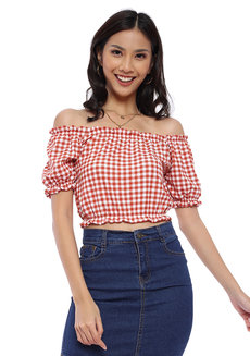Marla Off Shoulder Top by Babe