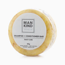 Shampoo Bar + Conditioner Daily Care (80g) by Mankind Apothecary Co.