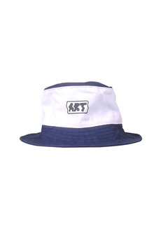 Warp Art White Bucket Hat by Artwork