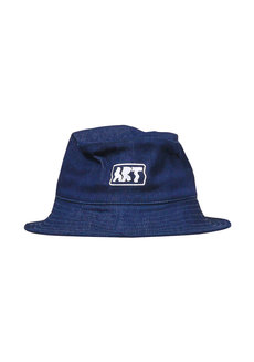 Warp Art Denim Bucket Hat by Artwork