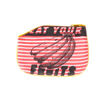 Eat Your Fruits Coin Purse by Artwork