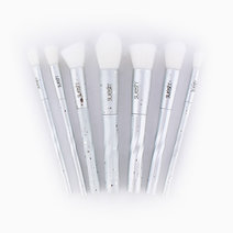7-Piece Silver Brush Set by Suesh