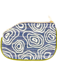 Circle and Circle Coin Purse by Artwork
