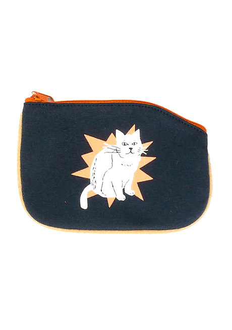 Tada Cat Coin Purse by Artwork