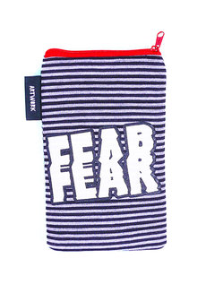 Fear Vertical Pouch by Artwork