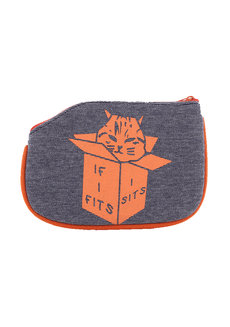 If I Fits Coin Purse by Artwork